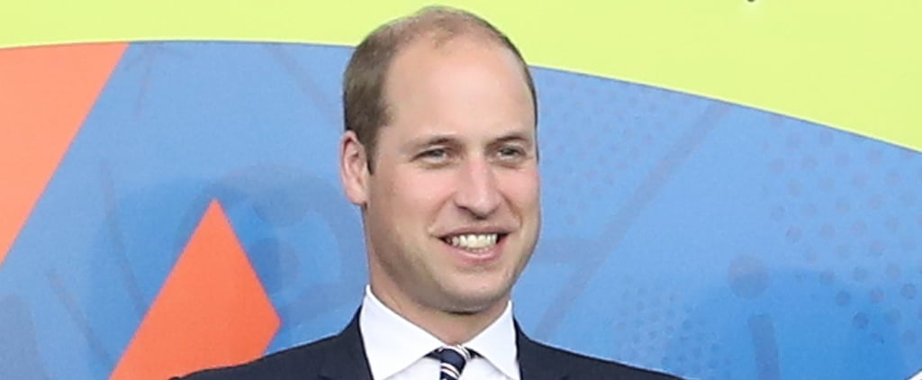 Prince William Happily Takes In a Soccer Match Ahead of His 34th Birthday