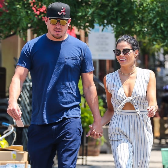 Channing and Jenna Dewan Tatum Holding Hands in NYC