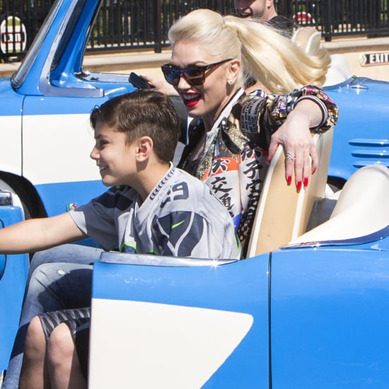 Gwen Stefani and Her Son at California Adventure May 2016