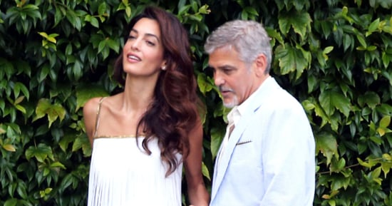Amal Clooney Unleashes Her Inner Flapper in Massively Fringed Dress