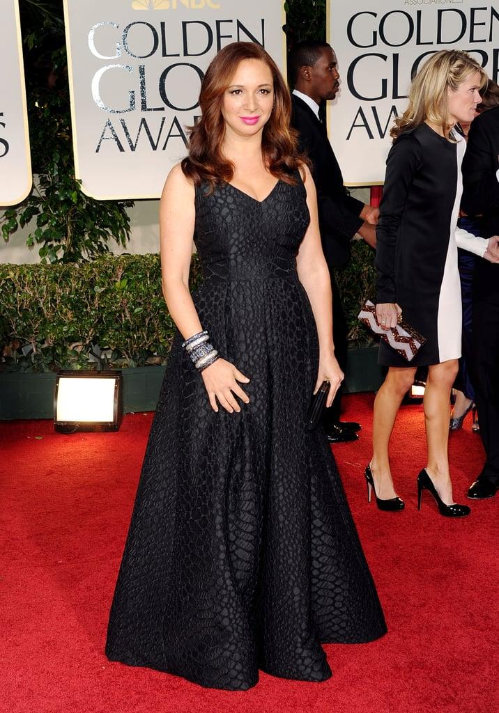 Maya Rudolph at the Golden Globes.