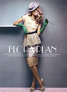 Vogue Australia 09 - Flora Plan