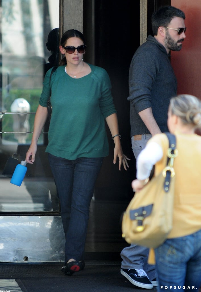Ben Affleck and Jennifer Garner were out together in LA.