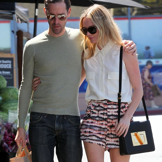 Kate Bosworth in Printed Shorts in LA (Video)