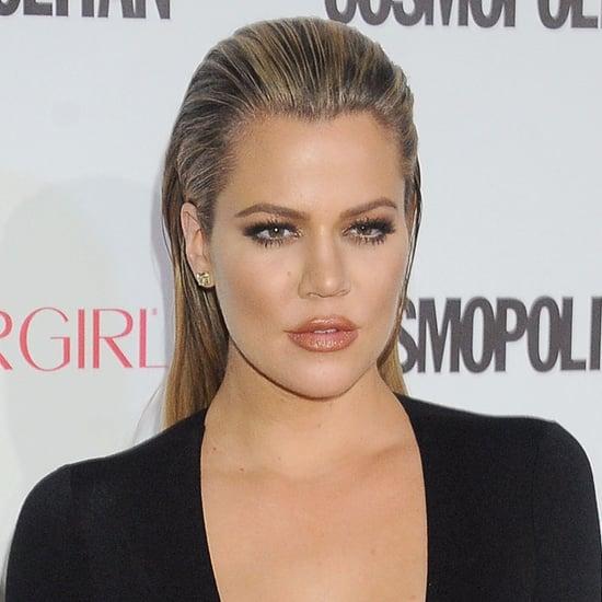 Khloe Kardashian Lob Haircut