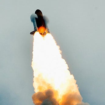 Space Shuttle Launch Video