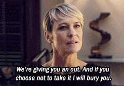 Claire Underwood's Best Quotes on House of Cards