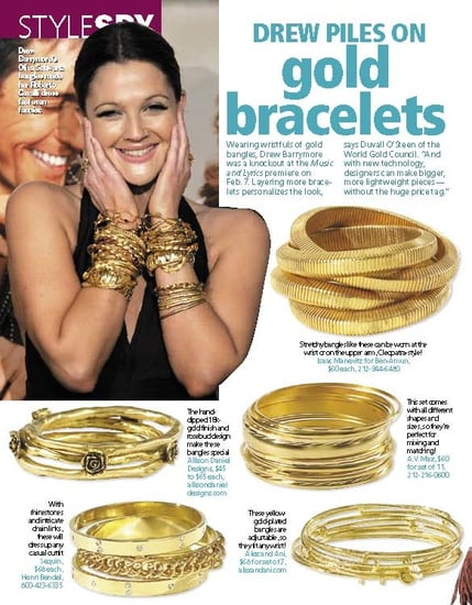 Fab How-To: Stacked Gold Bracelets