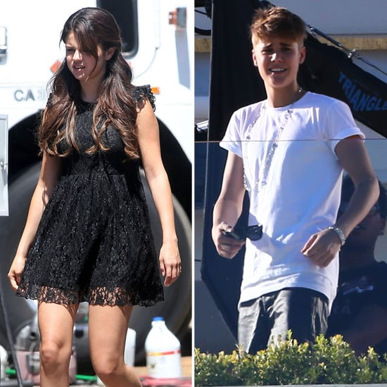 Selena Gomez Gets Sexy on Set While Justin Bieber Films For X Factor