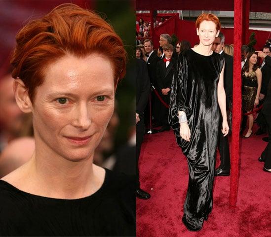Oscars Red Carpet: Tilda Swinton