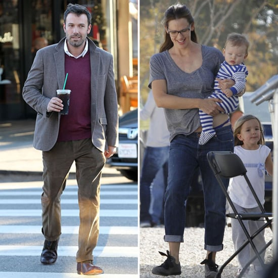 Jennifer Garner Plays Mom on Set With Sera and Samuel