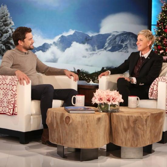 Joshua Jackson on Ellen December 2015
