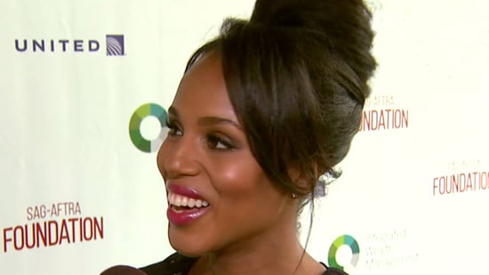 EXCLUSIVE: Kerry Washington Dishes on Second Pregnancy, Says She'll Be Back Shooting 'Scandal' in July