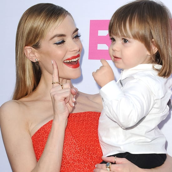 Jaime King Gets Mom Advice From Jessica Alba
