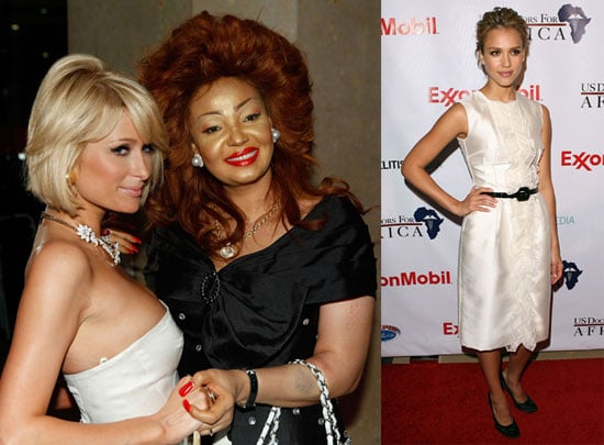 Photos of Paris Hilton and Jessica Alba at the 1st Historic Health Summit Gala
