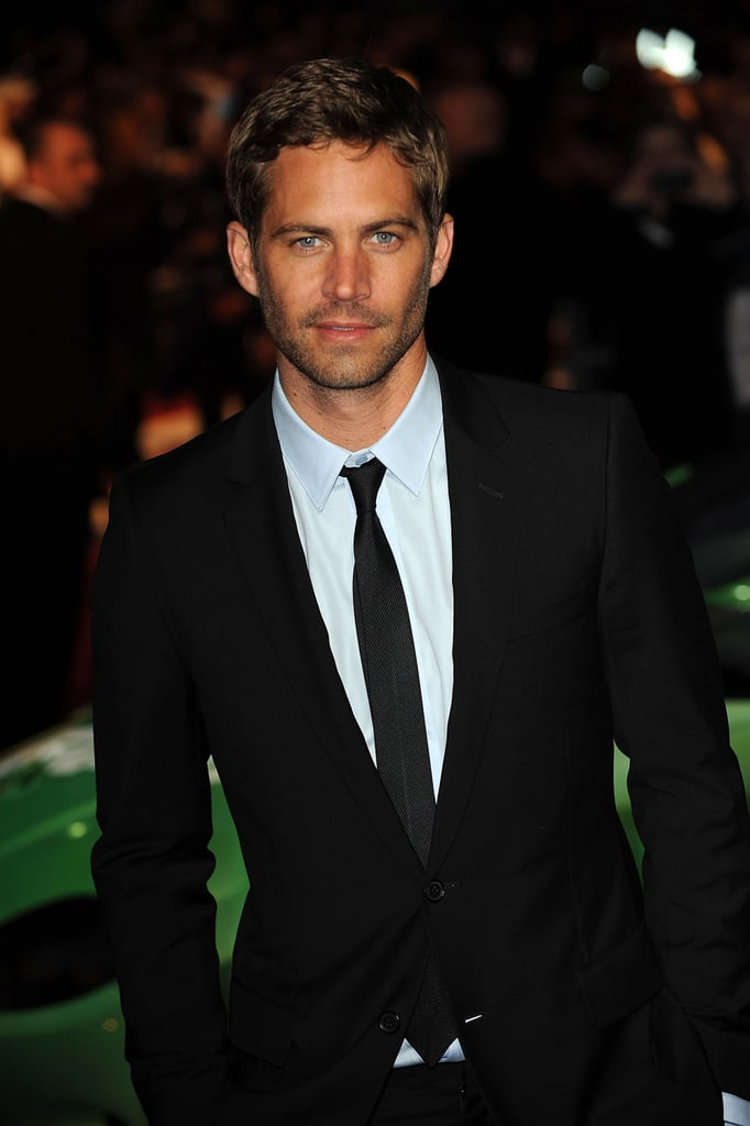 He looked handsome in a suit and tie for the UK premiere of Fast & Furious in March 2009.