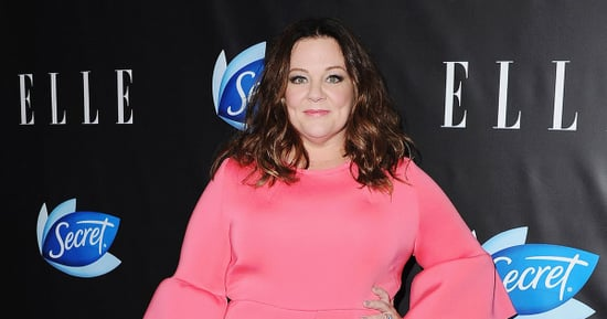 Melissa McCarthy Wears Pink on the Blue Carpet: Photo