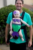 42 Adorable Halloween Costumes For Baby-Wearing Parents