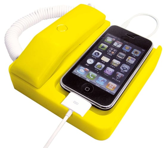 Retro Phone Handset For iPhone