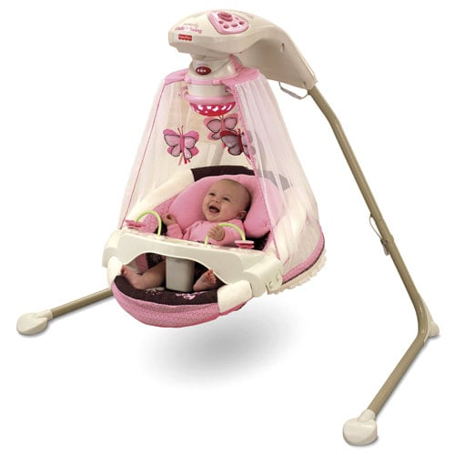 Fisher Price Butterfly Cradle 'n Swing ($165)