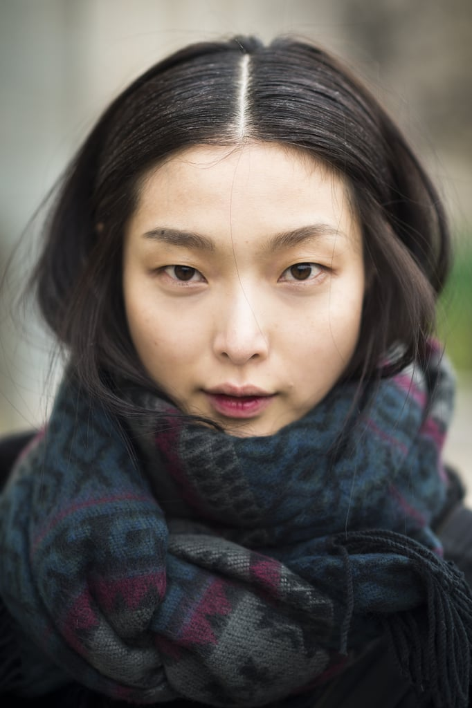 Sung Hee Kim's two-toned lip look was almost too perfect for words. Source: Le 21ème | Adam Katz Sinding