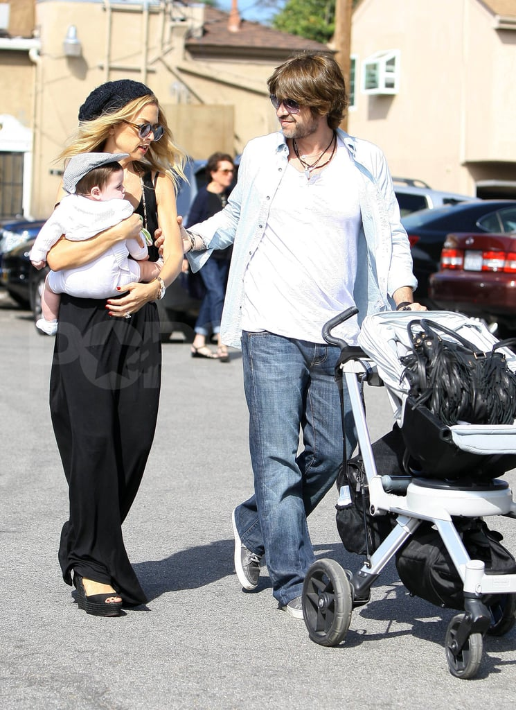 Rachel Zoe Does Lunch With Rodger and Adorable Skyler Berman!