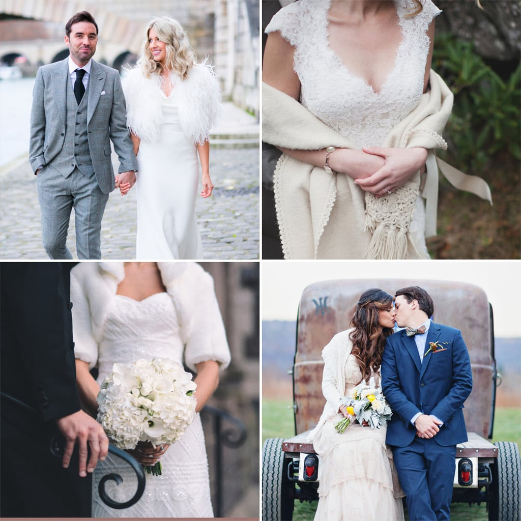 Wedding Gown Cover Ups: Cold-Weather Wedding Dress Cover-Ups
