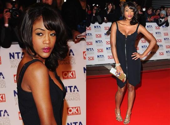 Tiana Benjamin at 2010 National Television Awards