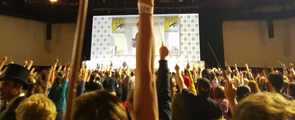 Harry Potter Nerds Will Cry Over This Moment From the Fantastic Beasts Comic-Con Panel