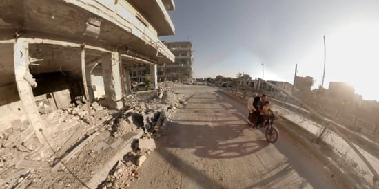 These 360 Photos Show What Life Is Like For Refugees