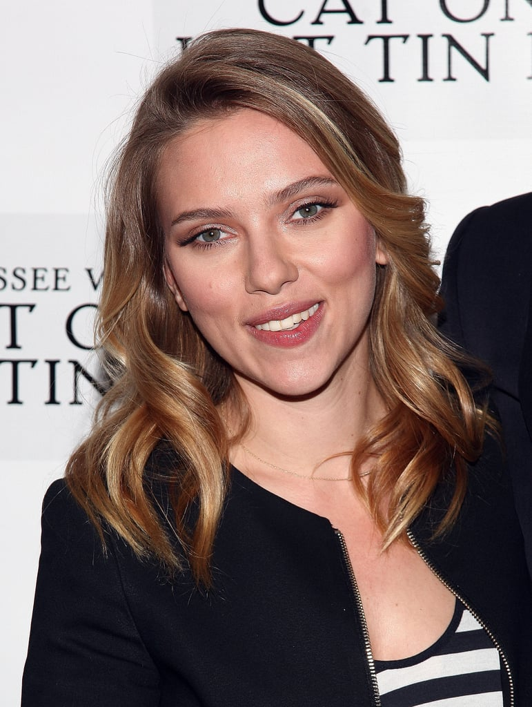 Scarlett Johansson attended a photocall for her new play.