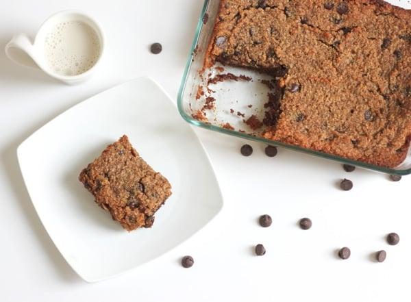 Double-Chocolate Paleo Gooey Cake