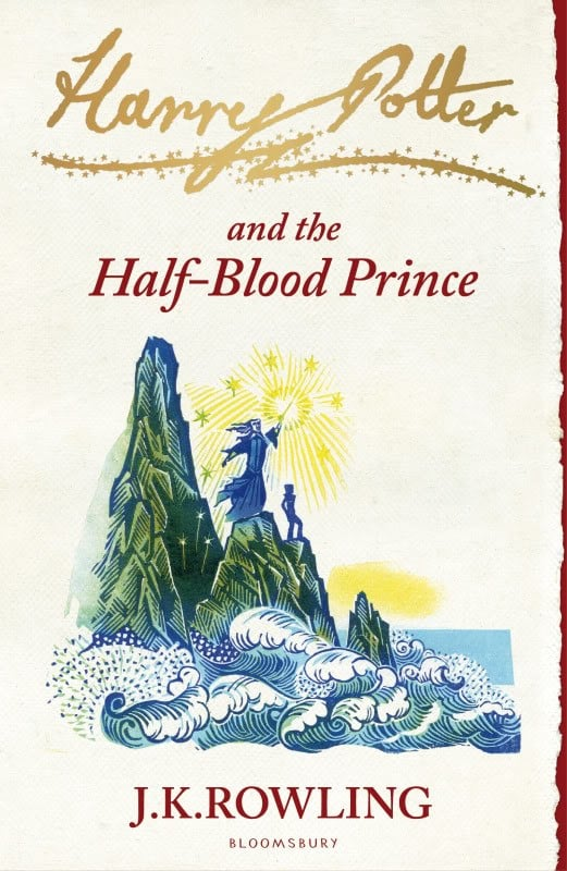 Harry Potter and the Half-Blood Prince, UK Signature