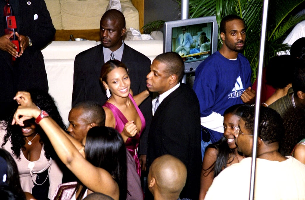 Jay-Z and Beyoncé were spotted partying at 40/40 Club in September 2004.