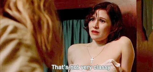 Because Morello still cares about keeping it classy.