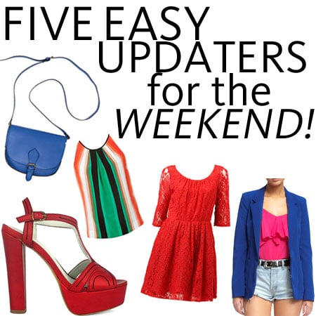 Top Five Bright Buys To Update Your Weekend Wardrobe: Pop Colour Pieces you can nab Online and Instore Now!