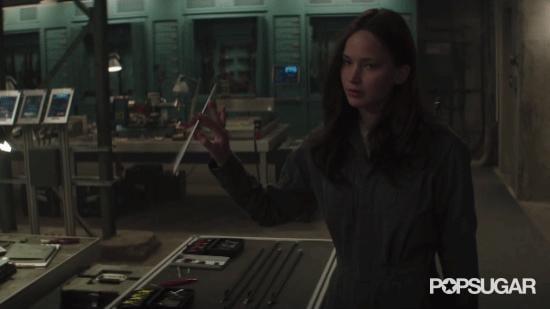 Katniss's Expert Arrow Skills