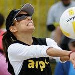 Volleyball Tourney: Take it From Eva Longoria