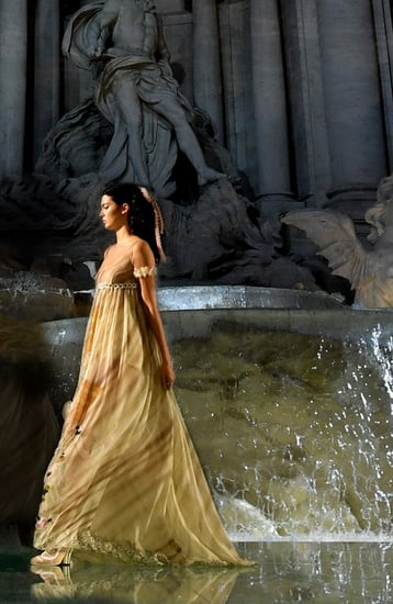 Must-See Moments From Fendi's Epic Show At The Trevi Fountain