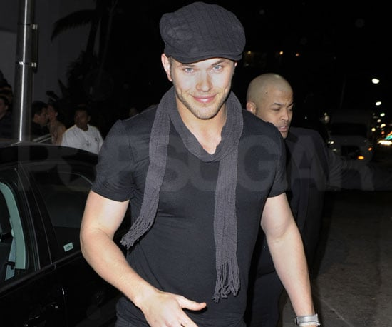 Slide Photo of Kellan Lutz Attending a Party in Miami