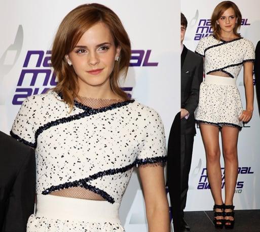 Photos of Emma Watson at the 2010 National Movie Awards