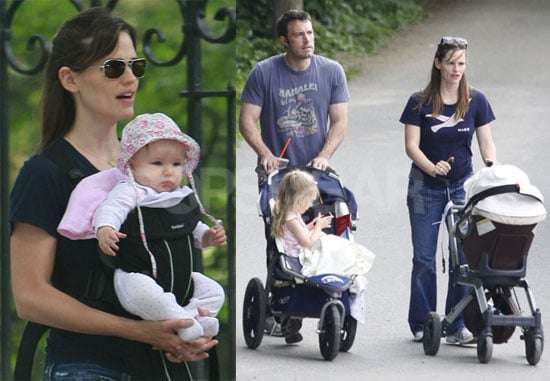 Photos of Jennifer Garner and Ben Affleck With Daughters Violet and Seraphina Together in Boston