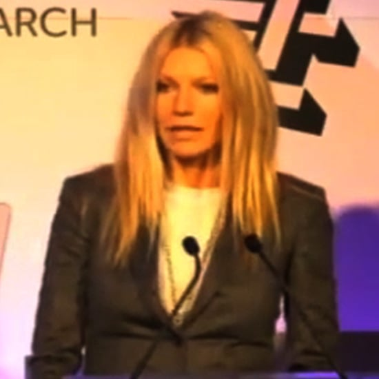 Gwyneth Paltrow Talking About Her Dad For Stand Up 2 Cancer