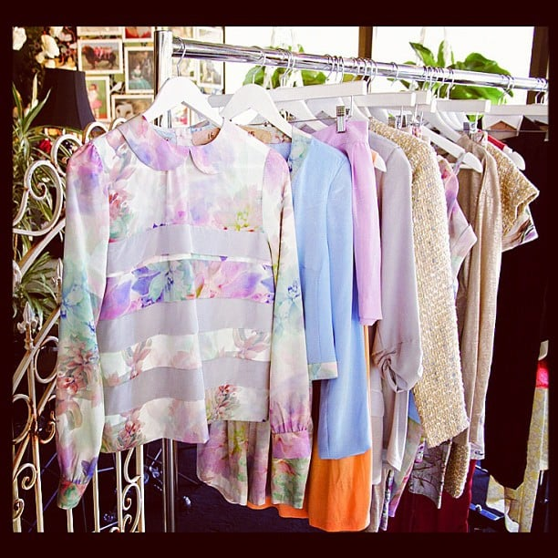 Whitney Eve's pastel collection.