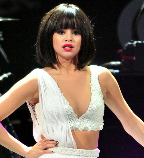 Selena Gomez's Hair at Jingle Ball 2013