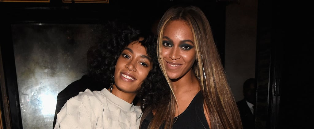 Beyoncé and Solange Knowles Had an Adorable Sister Moment at a Met Gala Afterparty