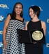 Kerry Washington laughed with Amy Schatz.