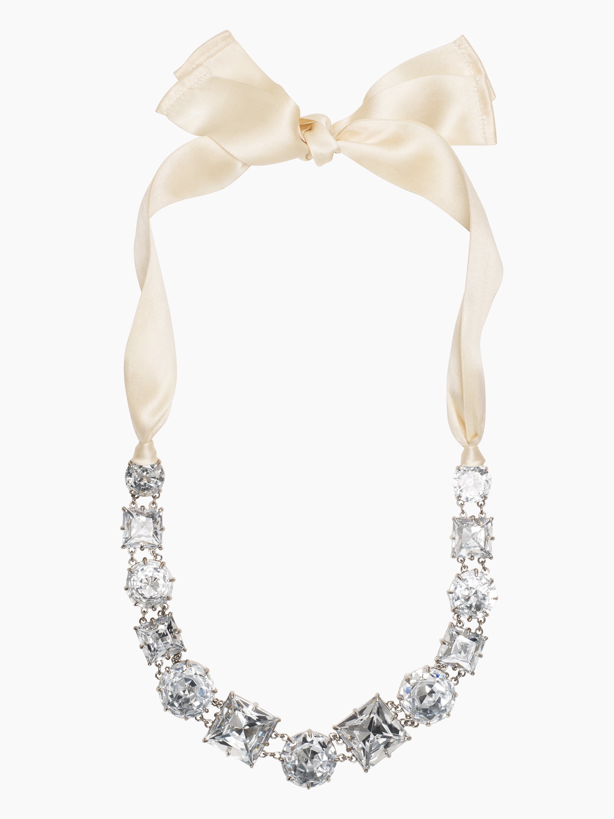 Kate Spade New York Crystal Kaleidoscope Necklace With Ribbon Tie ($129, originally $295)
