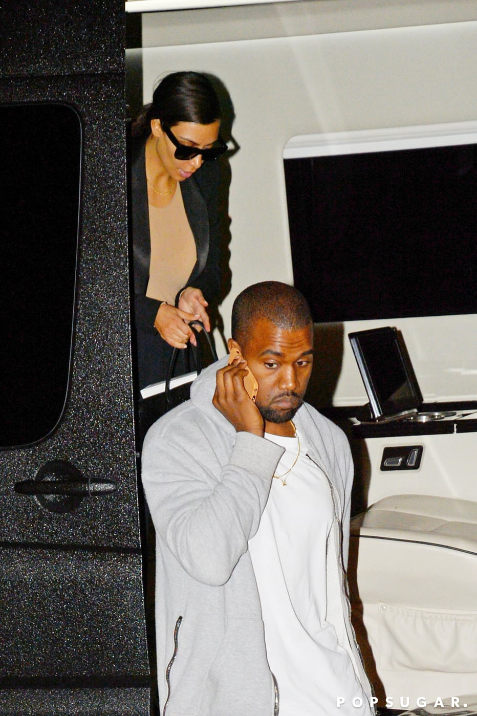 Kim and Kanye Prepare For Their Big Met Gala Appearance