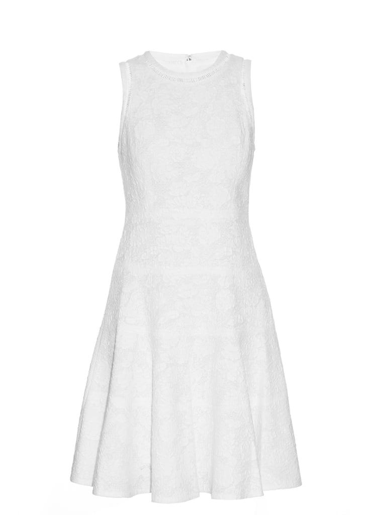 Rebecca Taylor Sleeveless cotton-blend jacquard dress ($375)